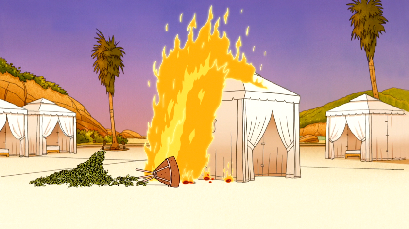 S6E15.219 Tent Being Set on Fire.png & Image - S6E15.219 Tent Being Set on Fire.png | Regular Show Wiki ...