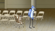 S6E28.021 Rigby Listening to Mordecai's Phone Talk