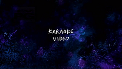 Karaoke Video Title Card