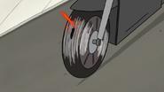 S7E20.154 Laser Hitting Tire