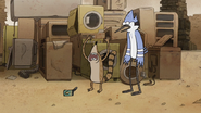 S7E24.094 Rigby Frustrated to See the Same Corn Can