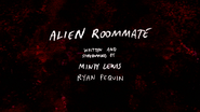 S8E19 Alien Roommate Title Card
