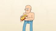 S4E13.006 A Bald, Shirtless Guy