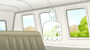 S6E12.104 Hi-Five Looking Out the Window