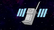 S8E01.179 Phone Satellite Up Close