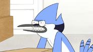 S4E30.002 Mordecai's Lifting Face