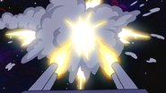 S6E24.445 Muscle Man Shooting a Scramble Missile