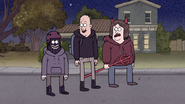 S7E09.315 The Jerk Teenagers Think Mordecai and Rigby are Cool