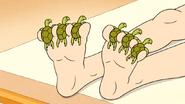 S6E15.090 Sea Turtles Between the Ladies Toes