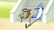 S5E20.054 Mordecai and Rigby Laughing