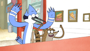S4E13.032 Mordecai and Rigby Wants the Death Sandwich