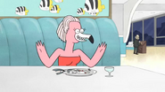 """S3E25 Flamingo woman """"You think this is going well"""""""