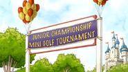 S6E03.087 Junior Championship Mini Golf Tournament