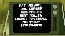 S6E19.169 Special Thanks to These Guys