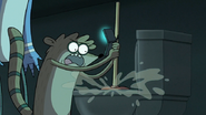 S6E23.099 Rigby Rushing the Toilet Trial