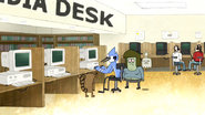 S4E30.023 Mordecai on the Library Computer
