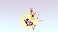 S4E13.286 Grand Master Kicking Mordecai's Face