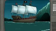 S8E07.039 Pirate Ship on TV