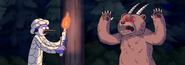 S5E07.050 Mordecai Encountering a Demonic Bear