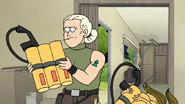 S8E19.382 Flamethrower Tanks is too Big for Eileen