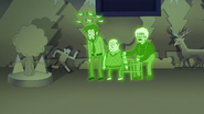 S7E02.126 The Ghost Notices John is Gone