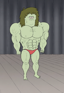 S5E11.049 Full View of Muscle Man in His Prime