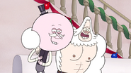 S6E09.177 Pops and Skips Laughing at Muscle Man