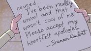 S8E19.356 Shannon's Note