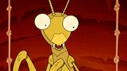 S5E27.54 Surprised Praying Mantis