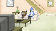 S5E01.014 Mordecai and Rigby Playing Video Games