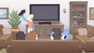 S6E01.120 Mordecai's Mom Present Mordy Moments to the Family