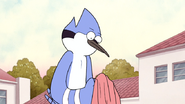S5E01.167 Mordecai Looks at the Sweater One Last Time