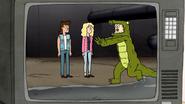 S7E20.018 A Man in a Alligator Costume