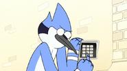 S7E26.085 Mordecai Randomly Eating the Code