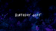 S7E06 Birthday Gift Title Card