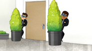 S7E07.084 Security Hiding Behind the Plants