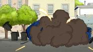 S7E20.162 Garbage Truck Explode