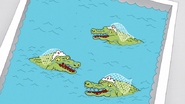 S6E14.120 Alligators in the Water