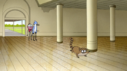 S6E21.197 Rigby Crawling Towards the Pencil Sharpener