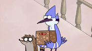 S2E09.046 Mordecai and Rigby are not Amused with Muscle Man