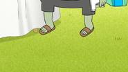 S5E13.006 Muscle Man Wearing Sandals