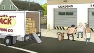 S6E06.116 Rigby's Paycheck Going in the Truck