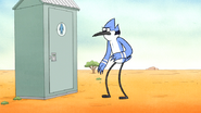 S6E13.055 Mordecai Telling Rigby to Hurry Up