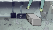 S3E04.164 Muscle Man Playing the Cement Block on the Gas Pedal