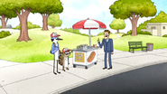 S5E36.045 Working at a Hot Dog Vendor