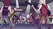 S3E25 Mordecai and CJ at a rock show 2