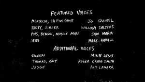 S5E23Return of Mordecai and the Rigbys Credits