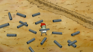 S7E25.012 Muscle Man and Galvanized Steel Pipes