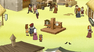 S7E30.077 Muscle Man and HFG in the Pillory