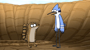 S7E10.028 Mordecai and Rigby Realizing They Have to Fill the Hole